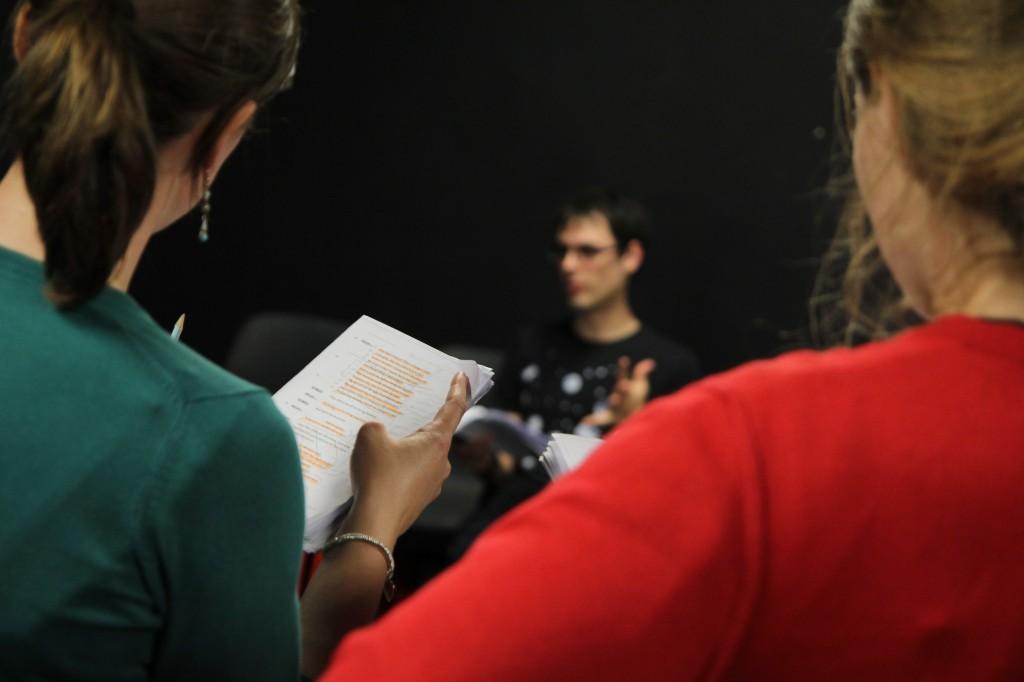 Romeo & Juliet rehearsals