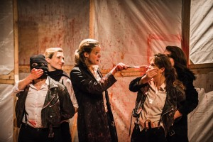 Titus Andronicus: an all-female production. photo by Daniel Harris.