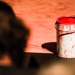 A paint can in Titus Andronicus