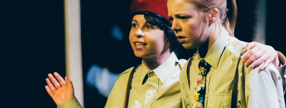 Iago & Roderigo (Ashlea Kaye & Hannah Morley)