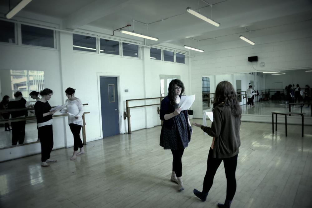 Titus Rehearsal Blog: Maddie (week 2)