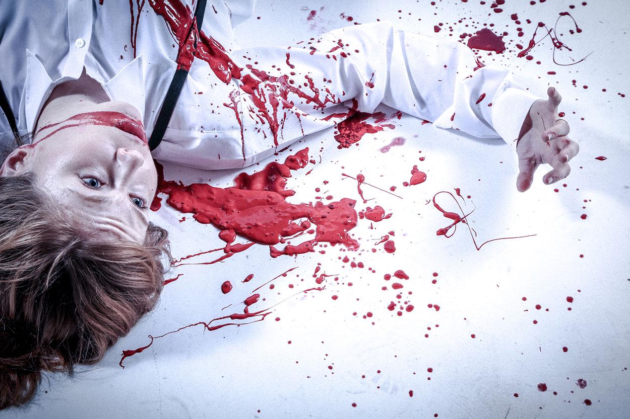 Titus Rehearsal Blog: Maddie's Blood Blog