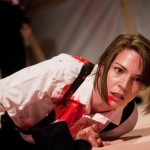 The Death of Bassianus in Titus Andronicus by Smooth Faced Gentlemen at the Edinburgh Fringe (photo by Mihaela Bodlovic)
