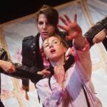 Titus Andronicus: an all-female production at the Edinburgh Fringe (photo by Mihaela Bodlovic)
