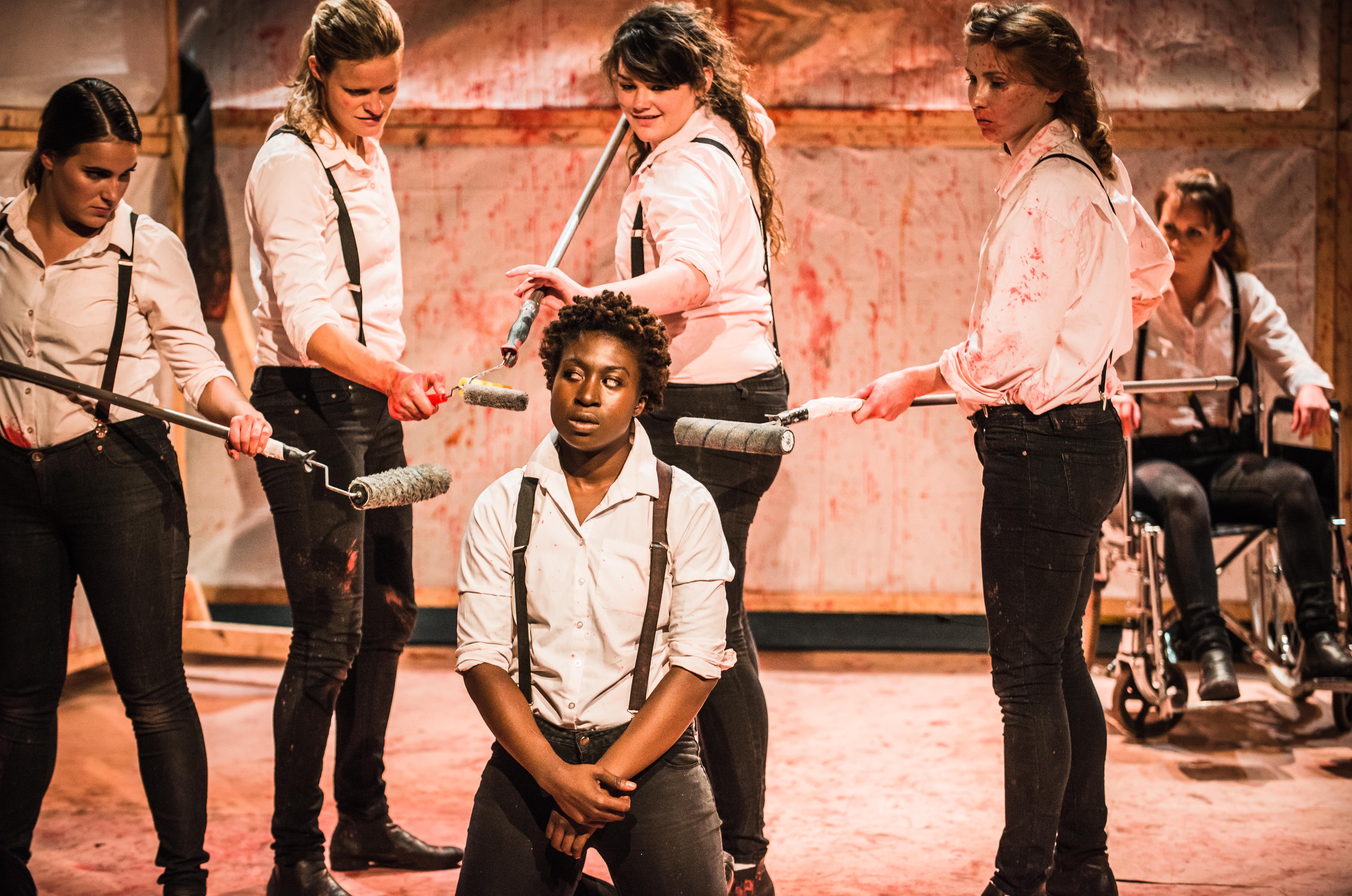 Titus Andronicus at Bedlam, Edinburgh Fringe (by Daniel Harris)